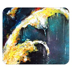 Abstract Space Nebula Double Sided Flano Blanket (small)
