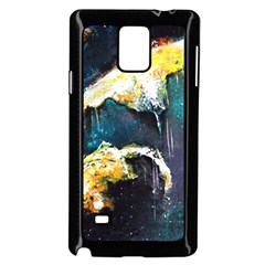 Abstract Space Nebula Samsung Galaxy Note 4 Case (Black)