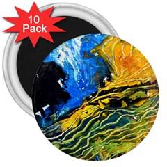 Landlines 3  Magnets (10 Pack)