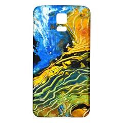 Landlines Samsung Galaxy S5 Back Case (White)