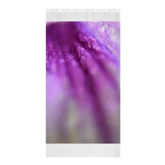 Purple Flower Pedal Shower Curtain 36  X 72  (stall)