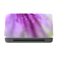 Purple Flower Pedal Memory Card Reader with CF