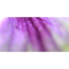 Purple Flower Pedal YOU ARE INVITED 3D Greeting Card (8x4)