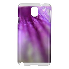 Purple Flower Pedal Samsung Galaxy Note 3 N9005 Hardshell Case