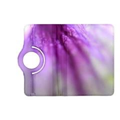 Purple Flower Pedal Kindle Fire Hd (2013) Flip 360 Case