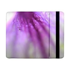 Purple Flower Pedal Samsung Galaxy Tab Pro 8.4  Flip Case