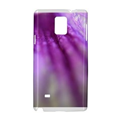 Purple Flower Pedal Samsung Galaxy Note 4 Hardshell Case