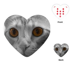 Funny Cat Playing Cards (Heart)