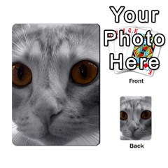 Funny Cat Multi Purpose Cards (rectangle)