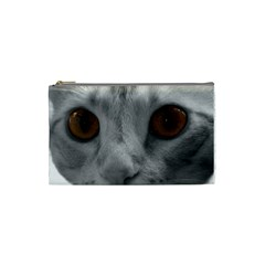 Funny Cat Cosmetic Bag (small)