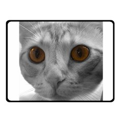 Funny Cat Fleece Blanket (Small)