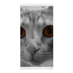 Funny Cat Shower Curtain 36  x 72  (Stall)