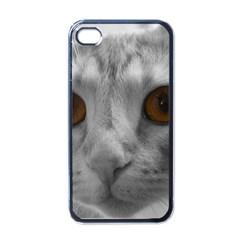 Funny Cat Apple Iphone 4 Case (black)