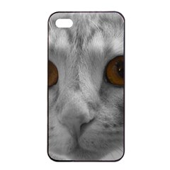 Funny Cat Apple Iphone 4/4s Seamless Case (black)
