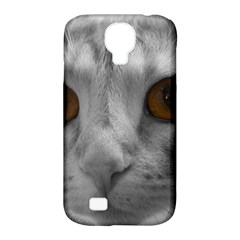 Funny Cat Samsung Galaxy S4 Classic Hardshell Case (pc+silicone)