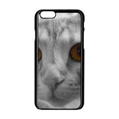 Funny Cat Apple iPhone 6 Black Enamel Case