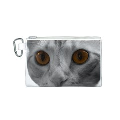 Funny Cat Canvas Cosmetic Bag (s)