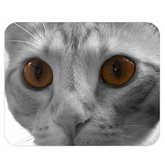 Funny Cat Double Sided Flano Blanket (Medium)