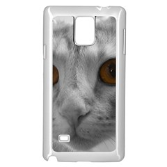 Funny Cat Samsung Galaxy Note 4 Case (White)