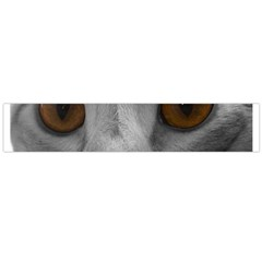 Funny Cat Flano Scarf (large)