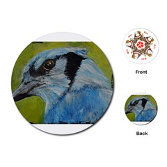Blue Jay Playing Cards (Round)