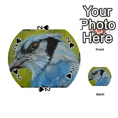 Blue Jay Playing Cards 54 (round)