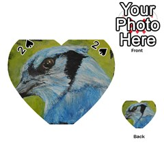 Blue Jay Playing Cards 54 (Heart)