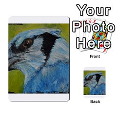 Blue Jay Multi-purpose Cards (Rectangle)