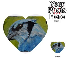Blue Jay Multi-purpose Cards (Heart)