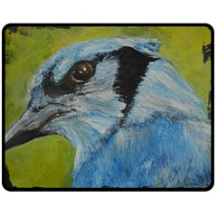 Blue Jay Fleece Blanket (Medium)