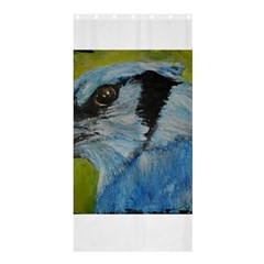 Blue Jay Shower Curtain 36  x 72  (Stall)