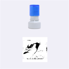 Blue Jay Rubber Round Stamps (Small)