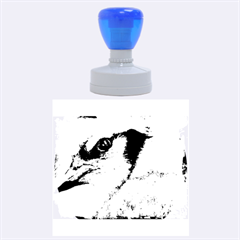 Blue Jay Rubber Round Stamps (Large)