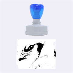Blue Jay Rubber Oval Stamps