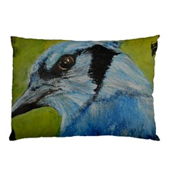 Blue Jay Pillow Cases (two Sides)