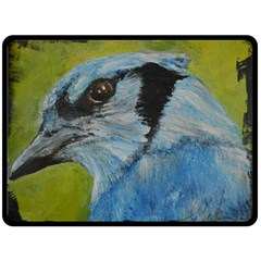 Blue Jay Double Sided Fleece Blanket (large)