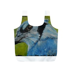 Blue Jay Full Print Recycle Bags (s)