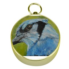 Blue Jay Gold Compasses