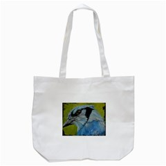 Blue Jay Tote Bag (white)