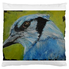 Blue Jay Large Flano Cushion Cases (Two Sides)