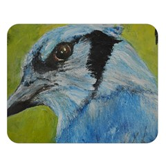 Blue Jay Double Sided Flano Blanket (large)