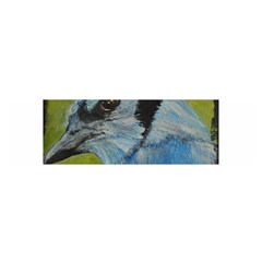 Blue Jay Satin Scarf (Oblong)