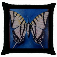 Butterfly Throw Pillow Cases (black)
