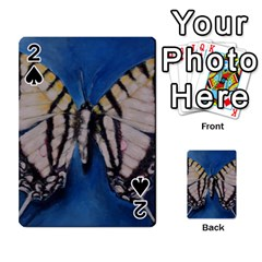 Butterfly Playing Cards 54 Designs