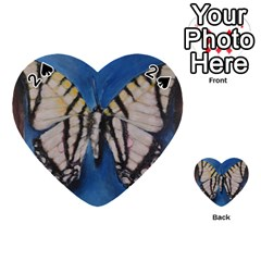 Butterfly Playing Cards 54 (heart)