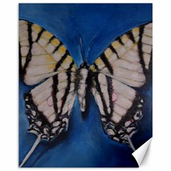 Butterfly Canvas 11  X 14