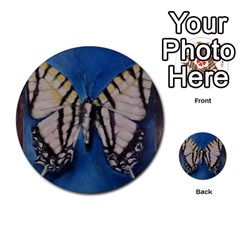 Butterfly Multi-purpose Cards (Round)