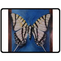 Butterfly Fleece Blanket (Large)
