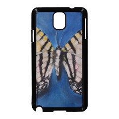 Butterfly Samsung Galaxy Note 3 Neo Hardshell Case (Black)