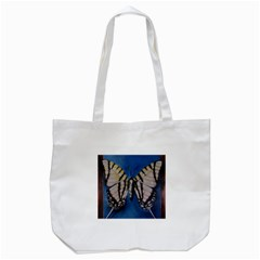 Butterfly Tote Bag (White)